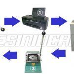 Paket Mesin ID Card Press