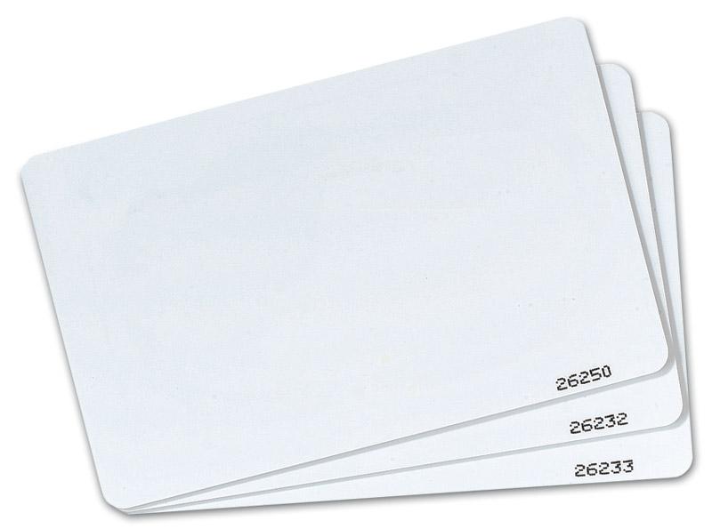 Blank Card Proximity